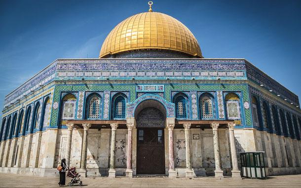世界遺産「エルサレムの旧市街とその城壁群(ヨルダン申請)」、岩のドーム