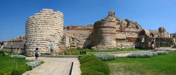 世界遺産「古代都市ネセバル(ブルガリア)」