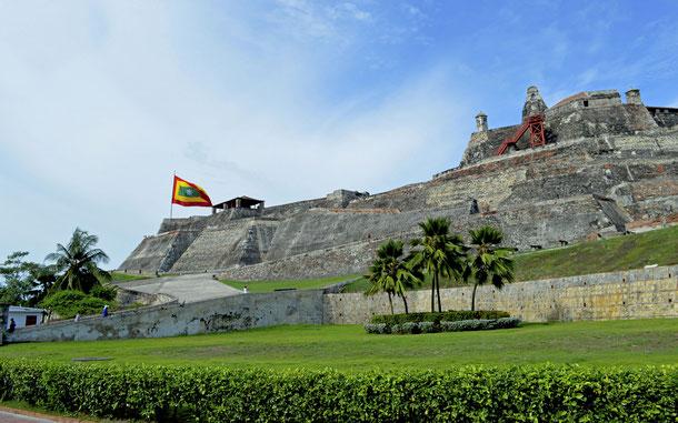 世界遺産「カルタヘナの港、要塞群と建造物群(コロンビア)」、サン・フェリペ要塞
