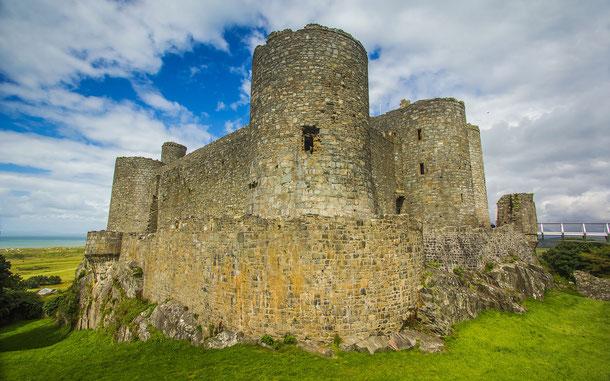 世界遺産「グウィネズのエドワード1世の城群と市壁群(イギリス)」、ハーレフ城