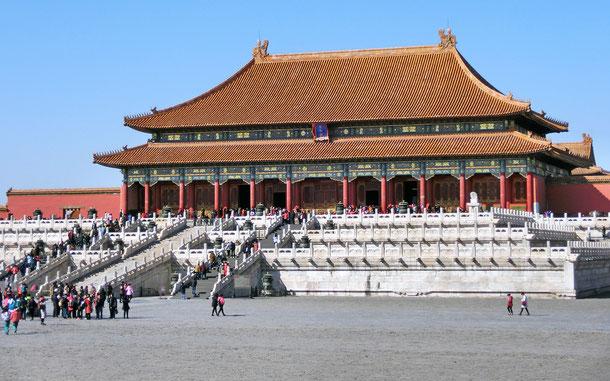 世界遺産「北京と瀋陽の明・清朝の皇宮群(中国)」、紫禁城・太和殿