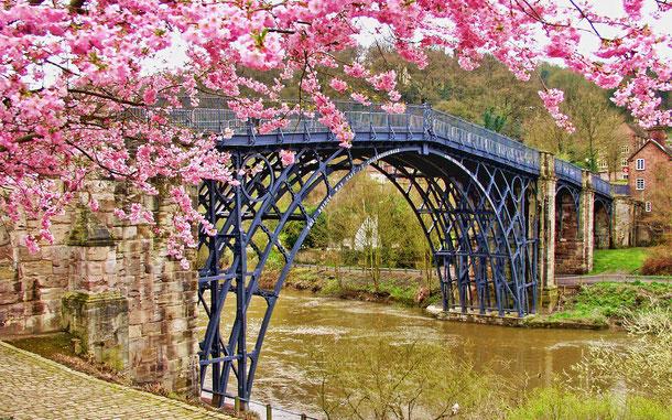 世界遺産「アイアンブリッジ峡谷(イギリス)」、コールブルックデール、通称アイアンブリッジ