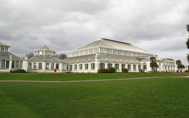 イギリスの世界遺産「キュー王立植物園」、テンペレート・ハウス