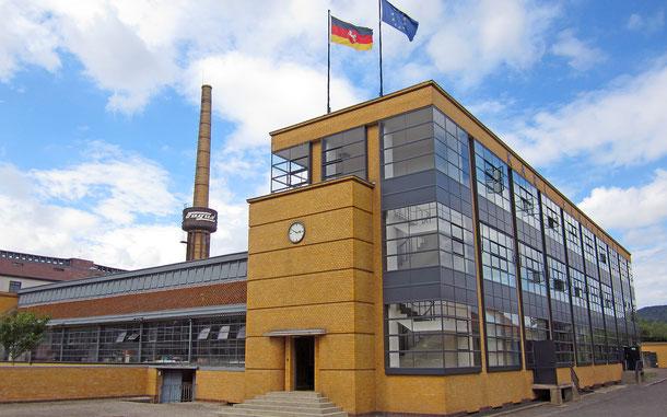 ドイツの世界遺産「アルフェルトのファグス工場」