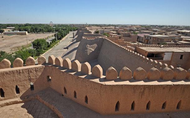 ウズベキスタンの世界遺産「イチャン・カラ(ウズベキスタン)」