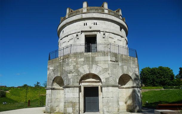 世界遺産「ラヴェンナの初期キリスト教建築物群(イタリア)」、テオドリック廟