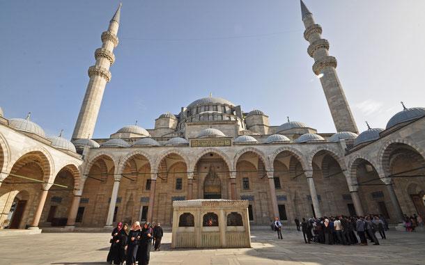 世界遺産「イスタンブール歴史地域(トルコ)」、スレイマニエ・モスク