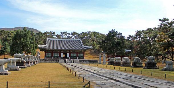 世界遺産「朝鮮王朝の王墓群(韓国)」の洪陵