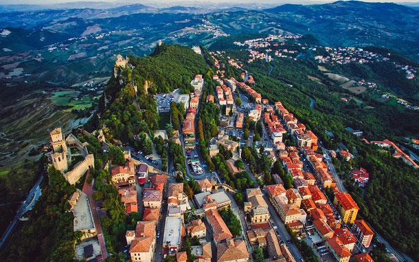 サンマリノの世界遺産「サンマリノ歴史地区とティターノ山」