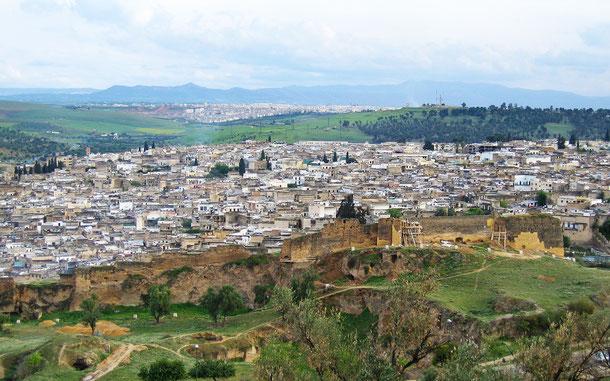 世界遺産「フェズ旧市街(モロッコ)」