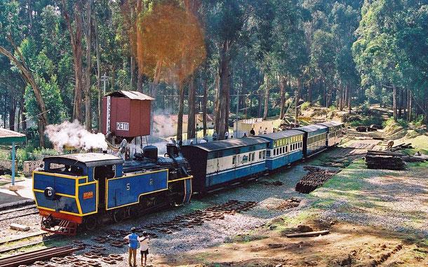 世界遺産「インドの山岳鉄道群(インド)」、ニルギリ山岳鉄道