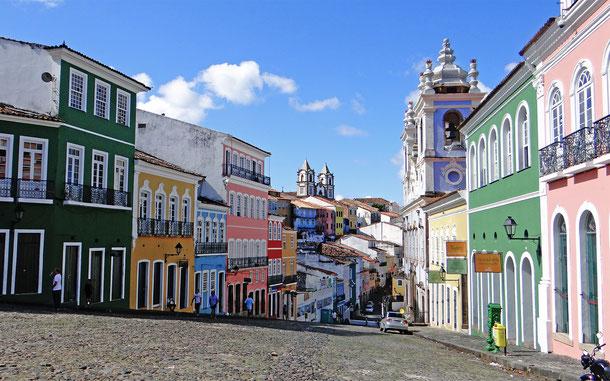 ブラジルの世界遺産「サルバドール・デ・バイア歴史地区」