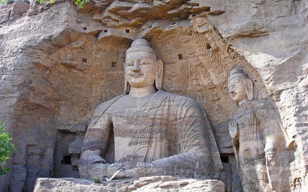 世界遺産「雲崗石窟(中国)」、第20窟