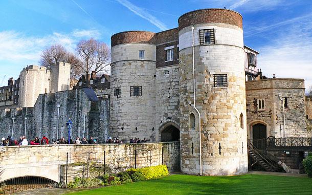 イギリスの世界遺産「ロンドン塔」、バイワード・タワー