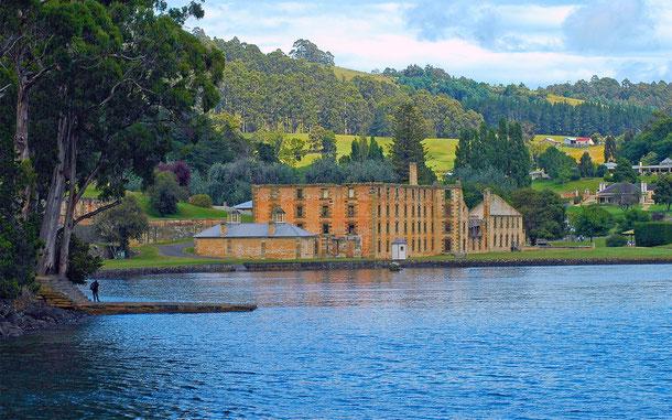 世界遺産「オーストラリア囚人遺跡群(オーストラリア)」、タスマニアのポート・アーサー流刑地