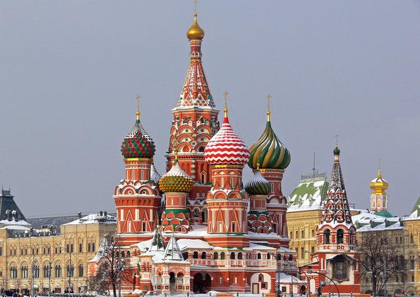 世界遺産「モスクワのクレムリンと赤の広場(ロシア)」、
