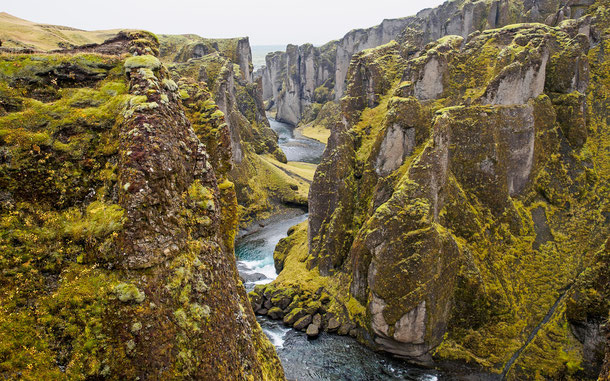 世界遺産「シングヴェトリル国立公園(アイスランド)」のギャオ