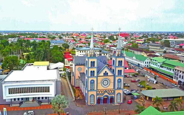 スリナムの世界遺産「パラマリボ市街歴史地区」