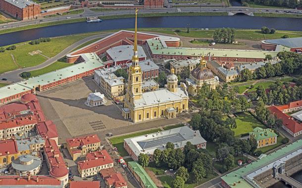 世界遺産「サンクトペテルブルク歴史地区と関連建造物群(ロシア)」、首座使徒ペトル・パウェル大聖堂