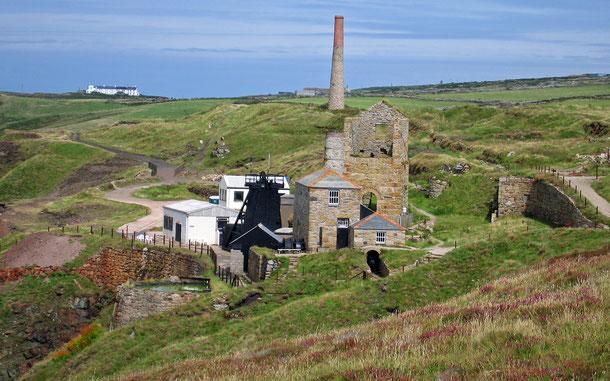 世界遺産「コーンウォールとウェストデヴォンの鉱山風景(イギリス)」のレヴァント鉱山