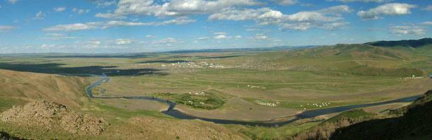 世界遺産「オルホン渓谷の文化的景観(モンゴル)」、カラコルムの絶景