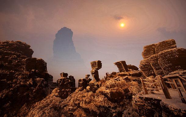 中国「梵淨山」の新金頂