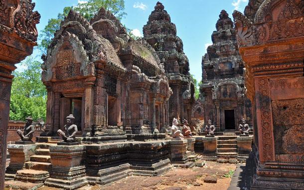 世界遺産「アンコール(カンボジア)」、