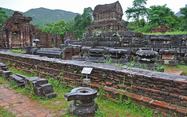 ベトナムの世界遺産「ミーソン聖域」