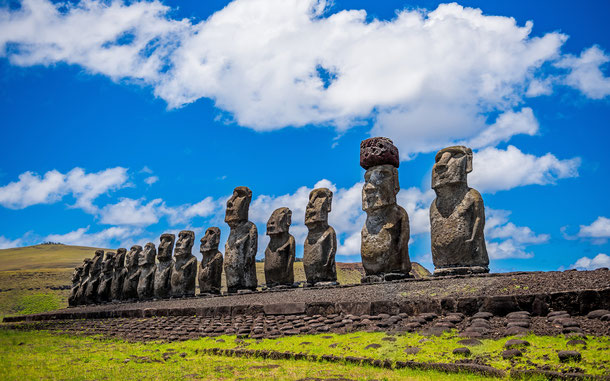 世界遺産「ラパ・ヌイ国立公園(チリ)」、アフ・トンガリキ