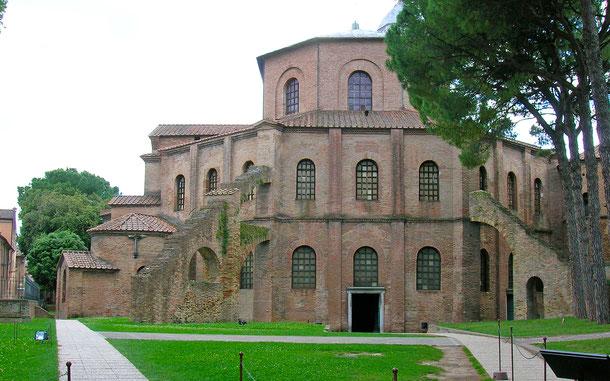 世界遺産「ラヴェンナの初期キリスト教建築物群(イタリア)」、サン・ヴィターレ聖堂
