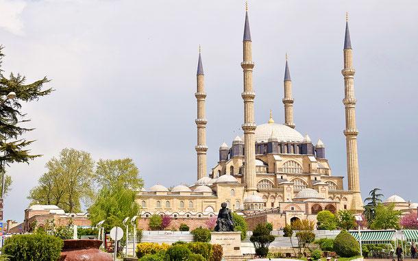 世界遺産「セリミエ・モスクと複合施設群(トルコ)」