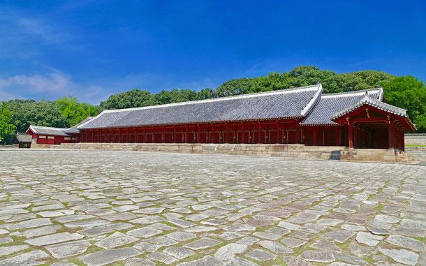世界遺産「宗廟(韓国)」、宗廟・正殿