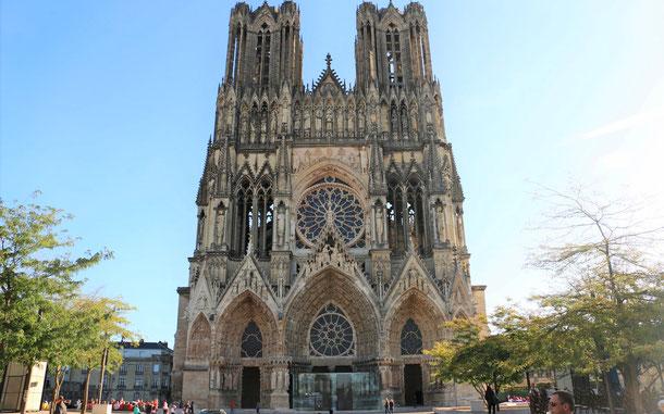 フランスの世界遺産「ランスのノートル・ダム大聖堂、サン・レミ旧大修道院及びトー宮殿」、ランスのノートル・ダム大聖堂、通称・ランス大聖堂