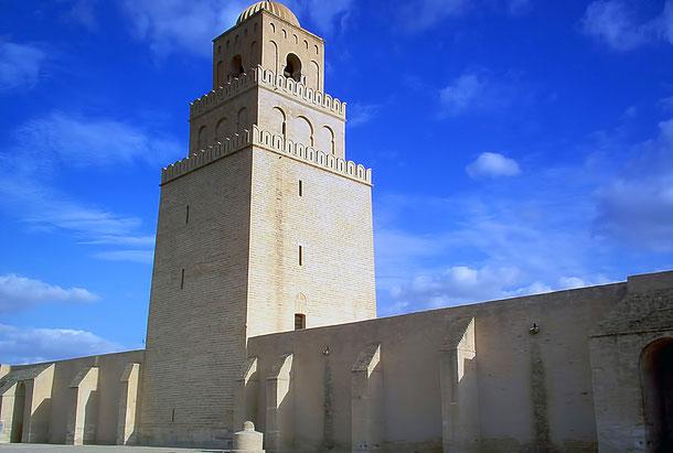 チュニジアの世界遺産「カイルアン」のグランド・モスク