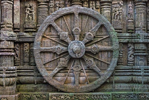 インドの世界遺産「コナーラクの太陽神寺院」