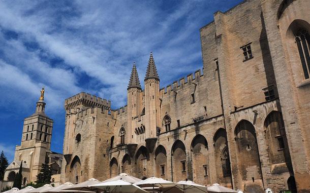 世界遺産「アヴィニョン歴史地区:教皇庁宮殿、司教関連建造物群及びアヴィニョン橋(フランス)」、教皇庁宮殿