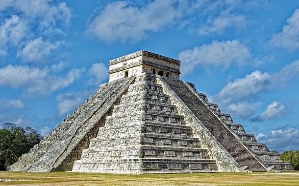 メキシコの世界遺産「古代都市チチェン・イッツァ」、エル・カスティーヨ
