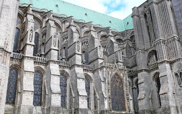 フランスの世界遺産「シャルトル大聖堂」