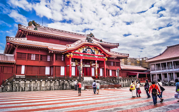 世界遺産「琉球王国のグスク及び関連遺産群(日本)」、琉球王の居城・首里城正殿