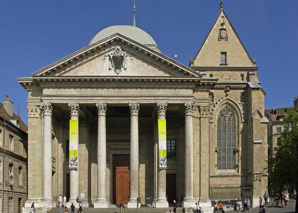 スイス・ジュネーブのサン・ピエール大聖堂