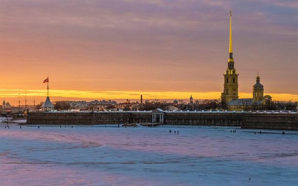 ロシアの世界遺産「サンクトペテルブルク歴史地区と関連建造物群」、ペトロパヴロフスク要塞
