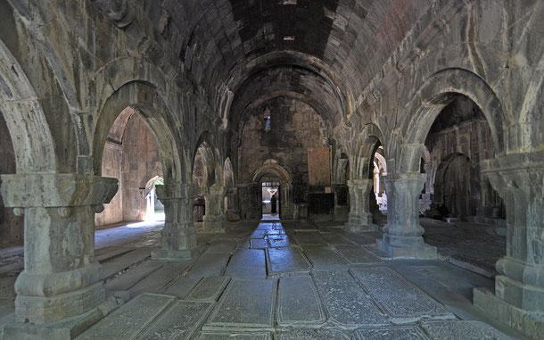 世界遺産「ハフパトとサナヒンの修道院群(アルメニア)」、サナヒン修道院