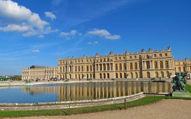 フランスの世界遺産「ベルサイユの宮殿と庭園」