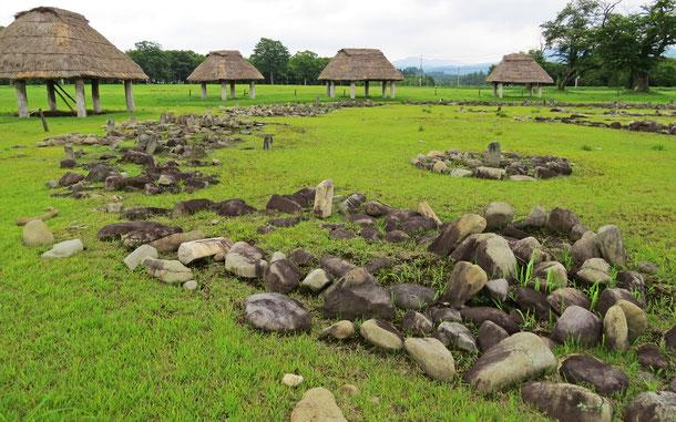 「北海道・北東北の縄文遺跡群」構成資産のひとつ、大湯環状列石
