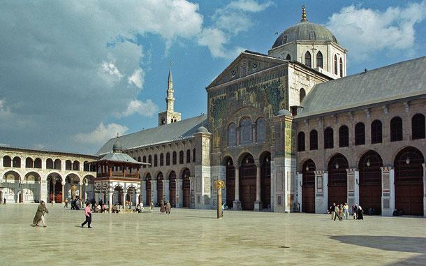 世界遺産「古都ダマスカス(シリア)」、ウマイヤド・モスク