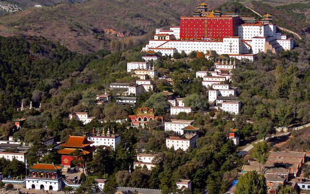 世界遺産「承徳の避暑山荘と外八廟(中国)」、避暑山荘