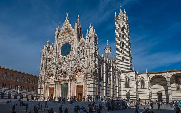 世界遺産「シエナ歴史地区(イタリア)」、シエナ大聖堂