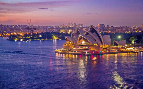 オーストラリアの世界遺産「シドニー・オペラハウス」