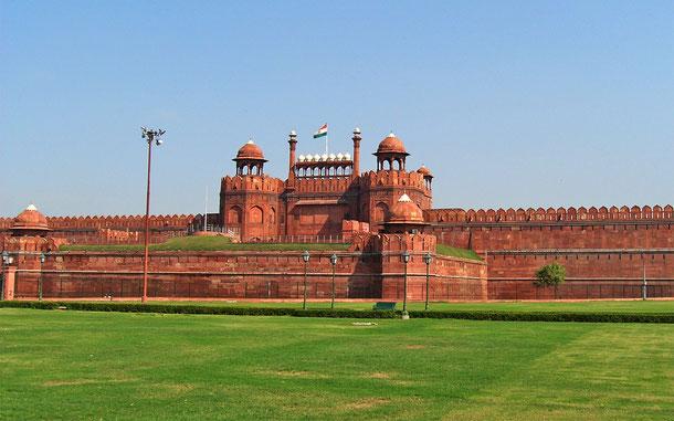世界遺産「レッド・フォートの建造物群(インド)」