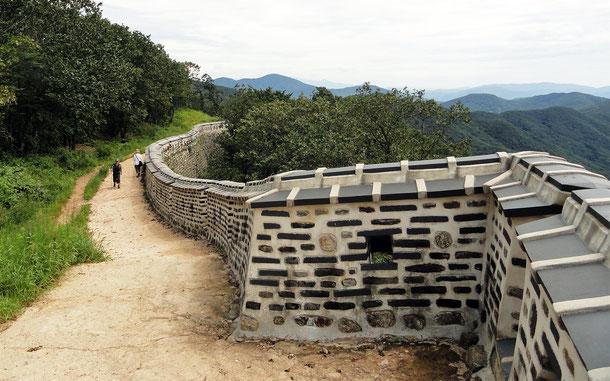 世界遺産「南漢山城」